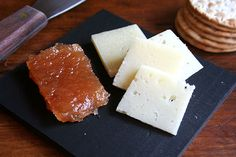 Quince Membrillo -- serve with cheeses like manchego