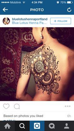 U - Tattoo vorlagen - Hand Henna Designs Full Arm Tattoos, Mom Tattoos, Back Tattoos, Body Art Tattoos, Sleeve Tattoos, Henna Tattoos, Henna Tattoo Back, Calf Tattoo, Henna Tattoo Designs