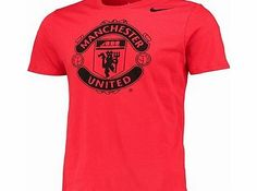 Manchester United Core Crest T-Shirt Red Manchester United Shirt, Sportswear, Girl Fashion, Core, The Unit, Gears, Mens Tops, T Shirt, Stuff To Buy