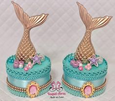 Nenhuma descrição de foto disponível. Mermaid Theme Birthday, Girl Birthday Themes, Baby Girl First Birthday, Birthday Parties, Mermaid Gifts, Mermaid Cakes, Little Mermaid Parties, The Little Mermaid, Mermaid Party Decorations