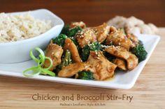 Melissa's Southern Style Kitchen: Chicken and Broccoli Stir-Fry