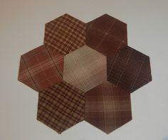 Hexagonos y rombos hechos con nuestro producto Templatesquick ®™ REF: TI30H