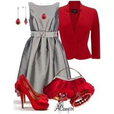 Gee,  see a pattern for me...as in RED!! Love for a Christmas party outfit.