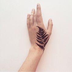 Современная роспись хной | Natural Henna