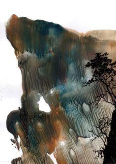 "Saatchi Art Artist Jola Mroszczyk; Painting, ""Escape"" #art"