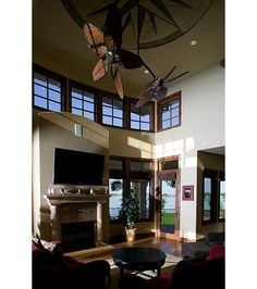 Great Room - Home and Garden Design Idea's