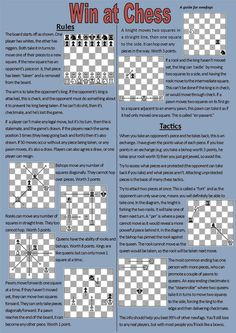 Share Published by: Source Unknown TIPS FOR: games, gaming, education, entertainment, hobbies, board game, board games, chess games, chess strategy, chess explained, chess basics, chess beginners, chess 101, chess play chess, how to study chess, whose chess games should i study, chess board, chess pieces, how to play chess, how to play chess rules, how Read More »