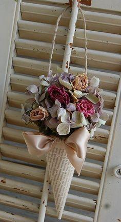 Que hacer con el ramo de novia, flor seca