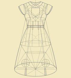 Tracciamenti. Technical drawing