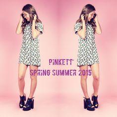 En tu #closet no puede faltar el #print de la #temporada !!! Nuestro #vestido #favorito #piñas #pinkett #style #modamexico #springsummer #SS15 #hechoenmexico