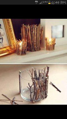 Creative decor for rustic wedding :)