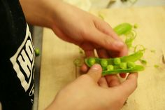 Our deliciously sweet snap peas.