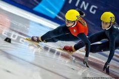 US Speedskater Jessica Smith of Melvindale