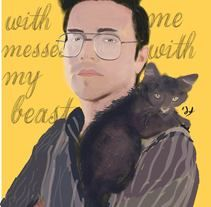"""""""Whoever messes with me messes with my beast"""""""