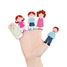 Image result for Free Finger Puppet Templates