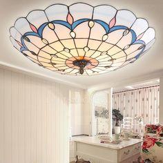 lamp shade tiffany ceiling diy - Google Search