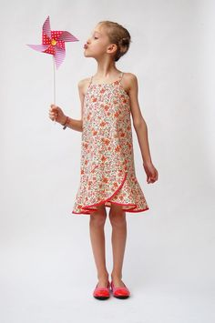 introducing the pinwheel tunic + slip dress sewing pattern | Blog | Oliver + S