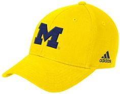 Michigan Wolverines Gold adidas Basic Logo Structured Adjustable Hat by  adidas.  14.99. adidas Basic 000e3703c099