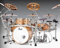 Reference Pure Series utilizing some of the latest ICON Rack System additions that debuted at the 2019 NAMM Show. Drums Artwork, Sheet Music Stand, Best Drums, Namm Show, Ludwig Drums, Pearl Drums, Drums Beats, Vintage Drums, How To Play Drums