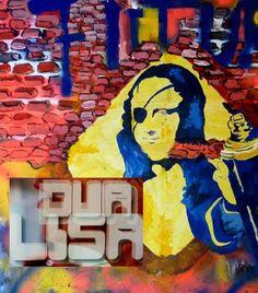 MetropolisBlues, ZeitBilder und Texte, Kunstblog von Fred Tille, Malerei: Mona Lisa Brigades | Ausstellung DuaLisa | Teil 2