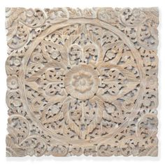 "Z Gallerie - Sanctuary Panel 36"" - Whitewashed - $299"