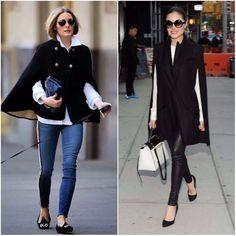 Capas uma ótima opção para substituir os casacos pesados no inverno.