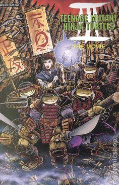 Teenage Mutant Ninja Turtles III: The Movie #1 1993  #thenerdrave #archie #comics #tmnt #teenagemutantninjaturtles #movie #turtlesintime Comic Book Collection, Teenage Mutant Ninja Turtles, Tmnt, Nerd, Comic Books, Archie Comics, Movie Posters, Movies, Film Poster