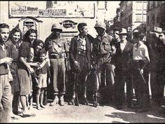 The 92nd Infantry Division in Italy during the World War II.  The Buffalo Soldier division.  Let's never forget them.