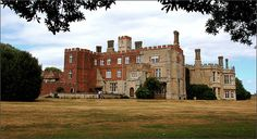 Hinchingbrooke House. Showing the bits( red brick) that Sandwich added to bring his house up to date