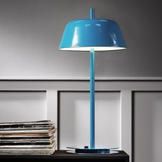 We LOVE the colour of this lamp!