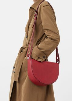 Flap cross-body bag   MANGO