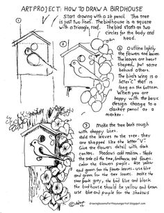Easy drawing lessons and worksheets for the beginning artist. Perfect to use in class or home teaching.