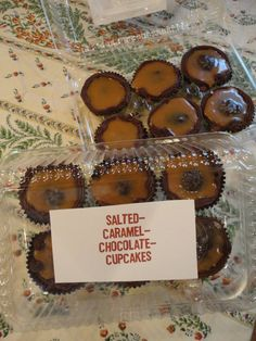 52 Cupcakes and Layla - Martha Stewart's Salted-Caramel-Chocolate Cupcakes . . . Yum!