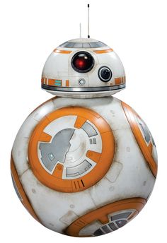 BB-8 was an astromech droid who operated approximately thirty years after the Battle of Endor. The droid was at one point operating in the desert of the planet Jakku. It had a domed head, similar to that of R2 series astromech droids.