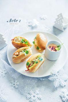 Lobster rolls, mayonnaise épicée - Ma table au sommet Acte 1 #matableausommet