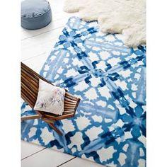 Blue Ink Carpet