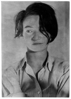 self-portrait Marianne Breslauer 2