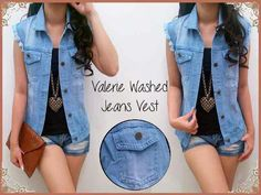 Vest jeans washed xl @53rb Seri 2pcs, mbhn jeans washed, good quality, no inner, ld102, pjg56 Ready 3mgg ¤ Order By : BB : 2951A21E CALL : 081234284739 SMS : 082245025275 WA : 089662165803 ¤ Check Collection @ : FB : Vanice Cloething Twitter : @VaniceCloething Instagram : Vanice Cloe