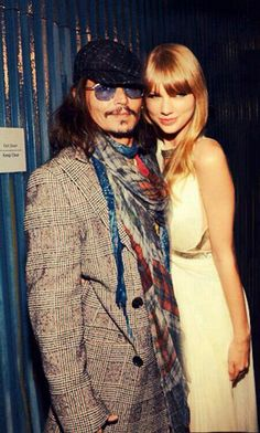 With Taylor Swift at the 2013 Grammys