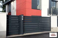 Portail Aluminium Coulissant Maez www.toriportails.be