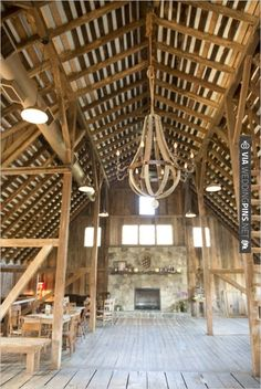 loft of The Barns at Hamilton Station | CHECK OUT MORE IDEAS AT WEDDINGPINS.NET | #weddings #weddingvenues #weddingpictures