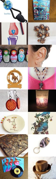 Something For Everyone - Shops of the Day by Leora Pevear on Etsy--Pinned+with+TreasuryPin.com