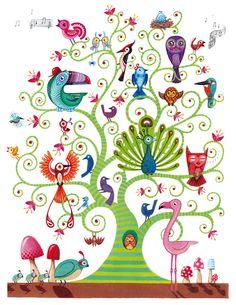 "Saatchi Online Artist: Adam Fisher; Acrylic, 2009, Painting ""Several Species"""