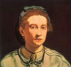 Édouard Manet - Portrait de Victorine Meurent Plus