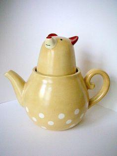 bear tea set