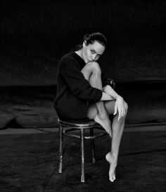 THE EXAMINED LIFE OF ANGELINA JOLIE PITT for the WSJ Magazine by Peter Lindbergh  Stylist: Anastasia Barbieri Hair: Adruitha Lee Make-up: Toni Garavaglia