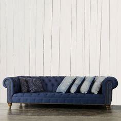 English Chesterfield Sofa - Furniture - RLH Collection - Ralph Lauren Home - RalphLaurenHome.com