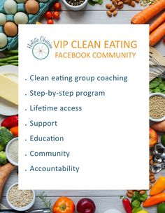 clean eating, group coaching, functional health, diet, whole foods, clean eating community, accountability, health and wellness, facebook group, step-by-step clean eating program, virtual health coaching, holistic obsession, online health coaching
