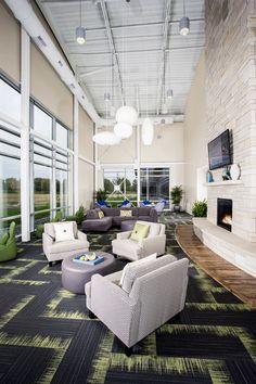 Workiva - in Ames, Iowa #largeoffice #commercialspaces #commercialinteriors #design #flooring