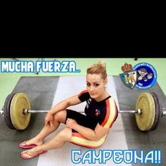 Olympic weightlifting is for girls...Lidia Valentin one of my favorite Olympic lifters.
